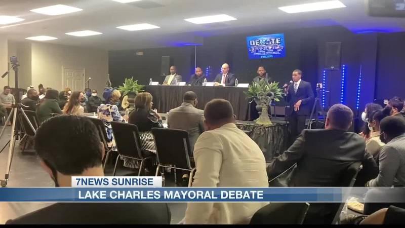 Mayoral candidates take part in debate one week before early voting