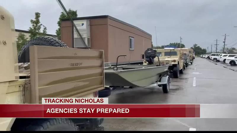 Agencies stay prepared for flood threat