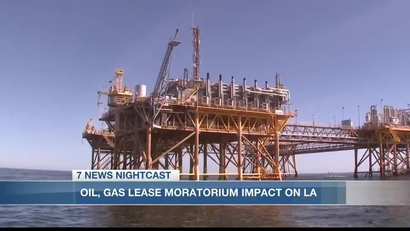 Impact of oil and gas lease moratorium on Louisiana's economy and environment