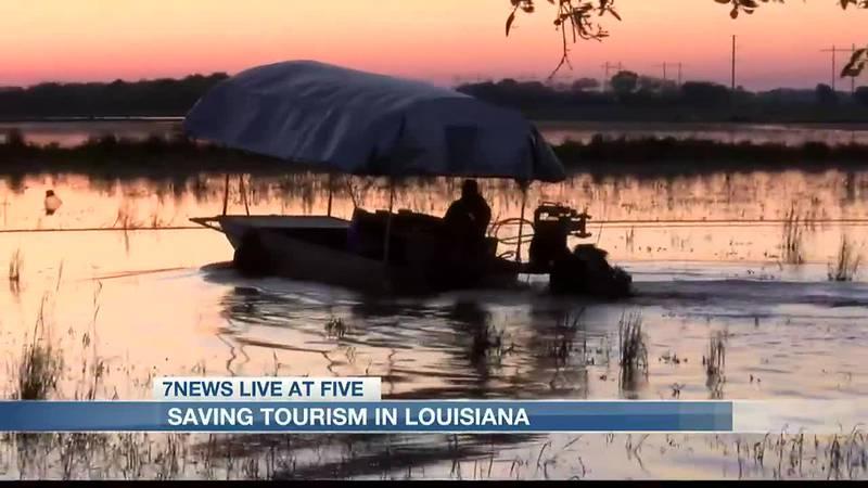 Saving tourism in Louisiana