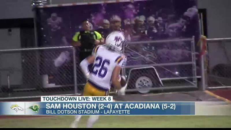 TDL WEEK 8: Acadiana 76, Sam Houston 14
