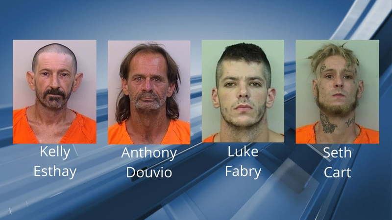 Four men are accused of stealing copper from a hotel on W. Prien Lake Road in Lake Charles,...