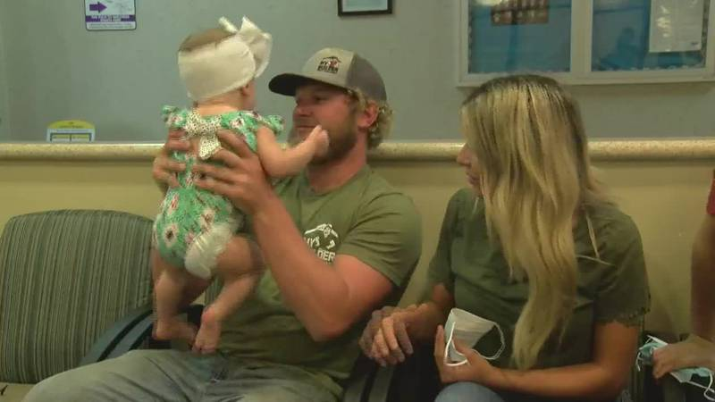 NICU babies moved during Hurricane Laura one year later
