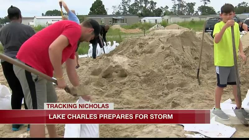 Lake Charles prepares for Nicholas