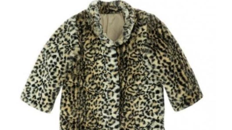 Recalled Cheetah Fur Jacket for infants