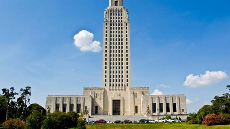 State offices in Louisiana will be closed for a half-day Friday.