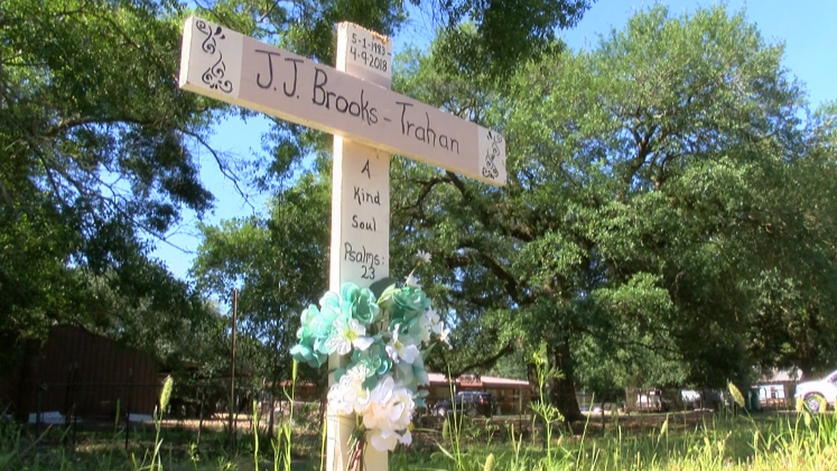Cross to memorialize J.J Brooks