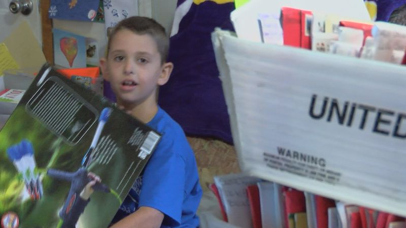 Just last week, 8-year-old Drake Quibodeaux, a Vinton boy fighting a terminal brain tumor had a...