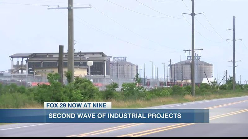 Several industrial projects are planned for Southwest Louisiana.