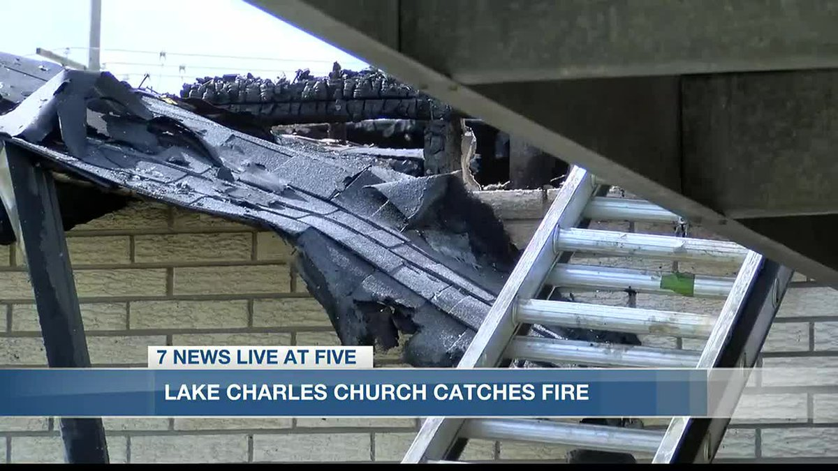 Pastor speaks out following Saturday's church fire.