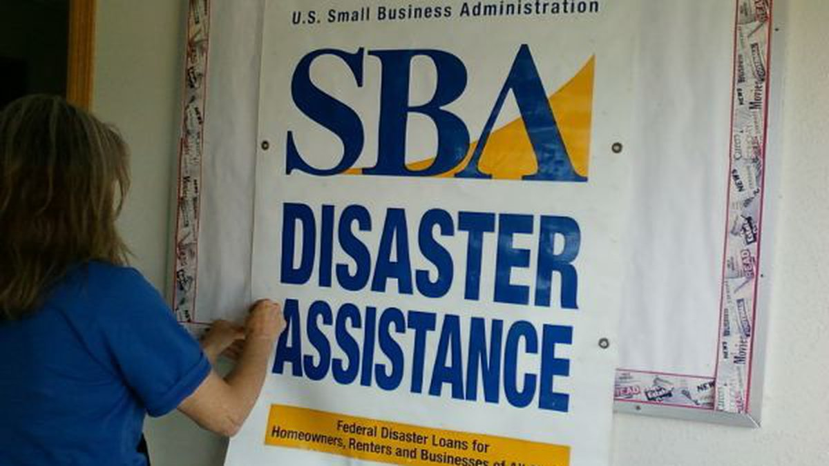 The SBA has approved $47 million in business loans and $555 million in residential loans...