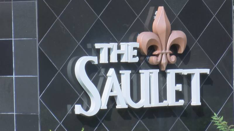 Some renters at the Saulet Apartments in New Orleans say property managers are trying to evict...