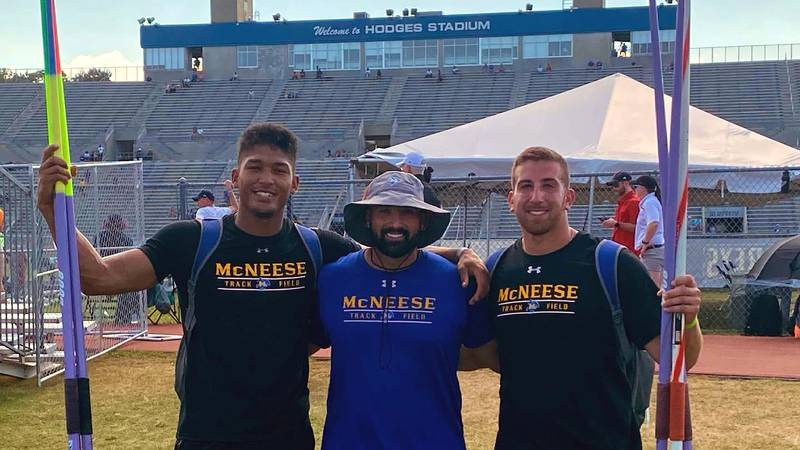 McNeese sends three athletes to NCAA Track and Field Championships