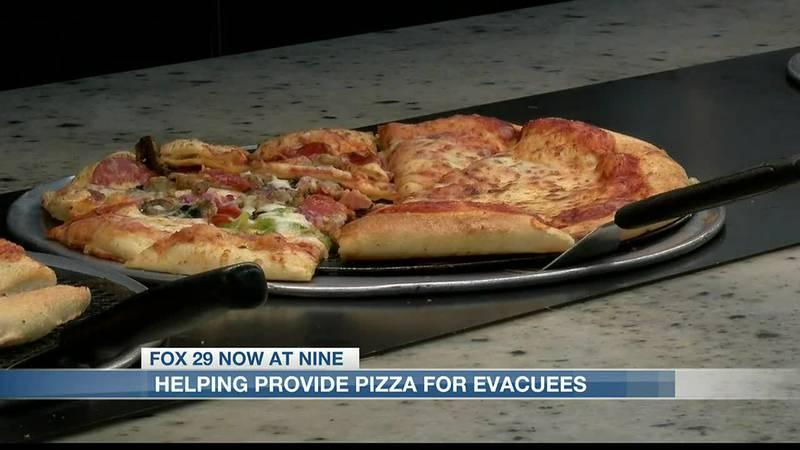 Cicis pizza provides for SELA