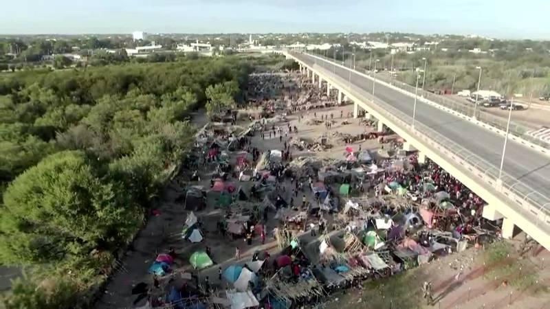 Haitian migrant crisis along US-Mexico border