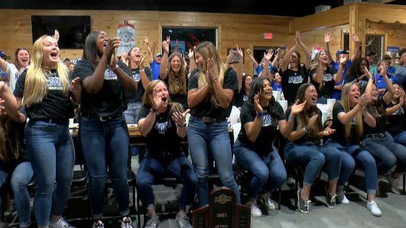 From Cowgirls NCAA Bracket watch party