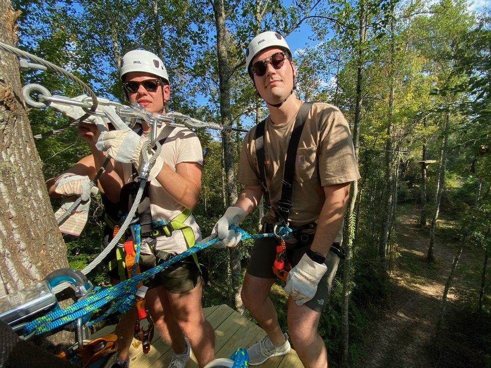 Magnolia Ridge Adventure Park is a brand-new zipline course in Ethel, Louisiana.
