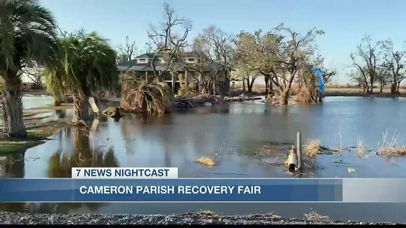 Relief agencies worked with Cameron Parish residents affected by natural disasters to find...