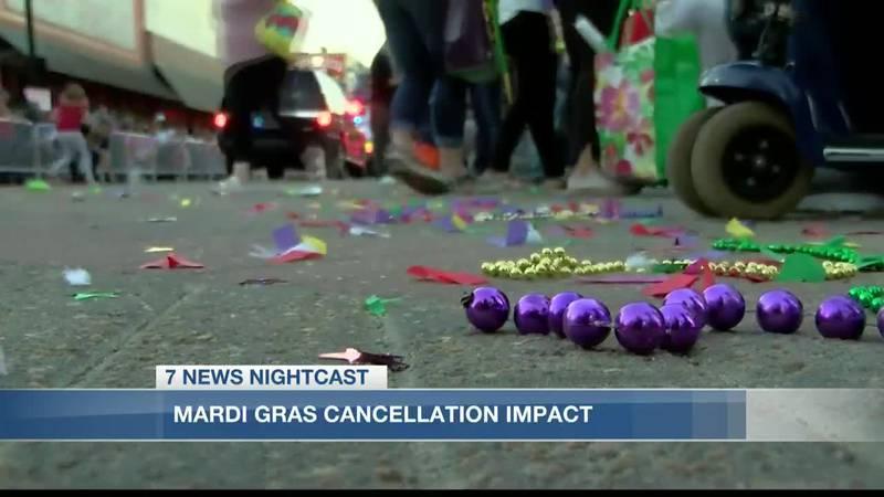 Mardi Gras cancellation impacts local businesses, organizations