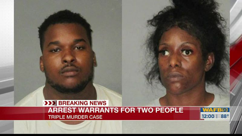 Mother accused of helping her two sons suspected in triple murder evade capture