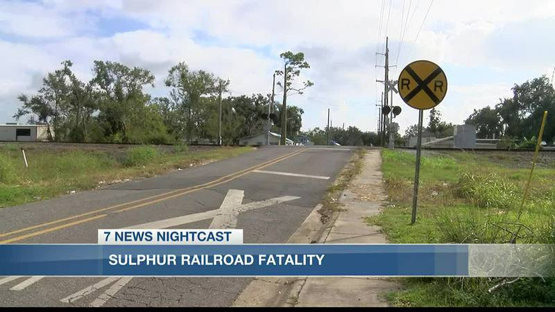 A railroad accident in Sulphur takes the life of another person.