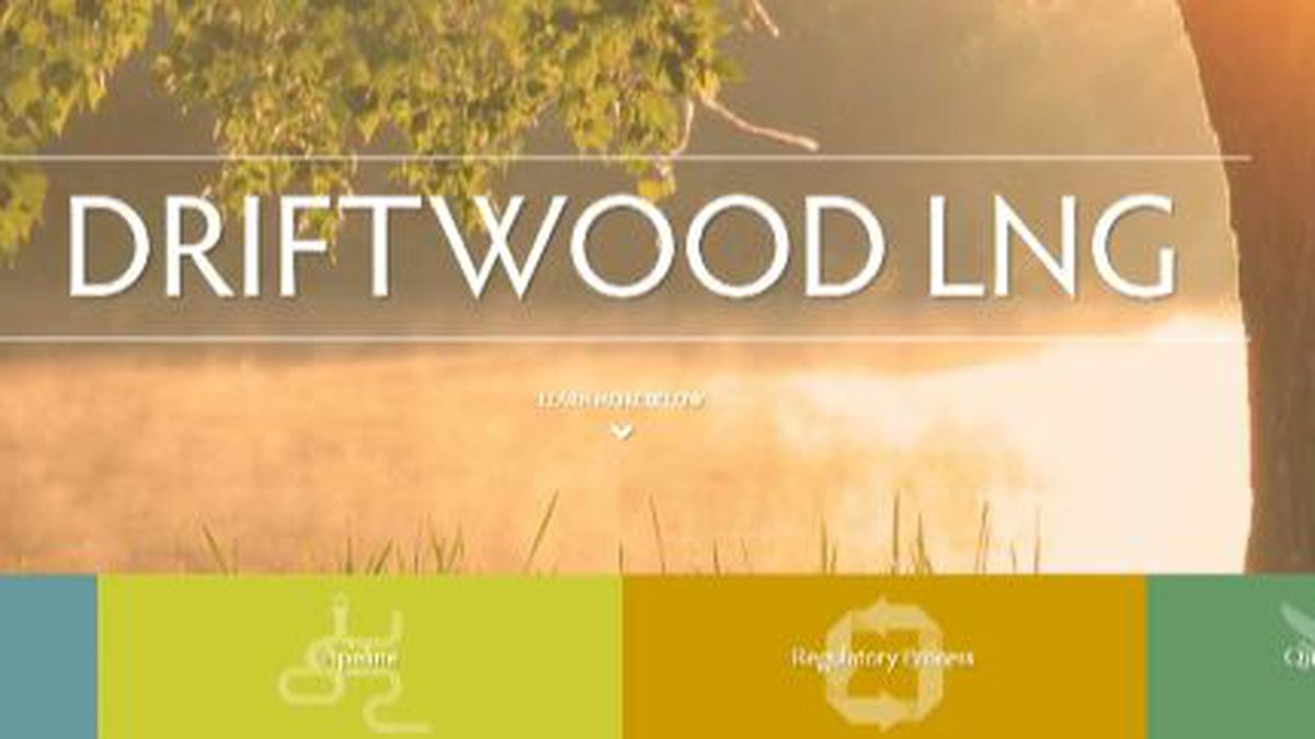 Driftwood LNG has received approval from the Calcasieu police jury, school board and sheriff to...