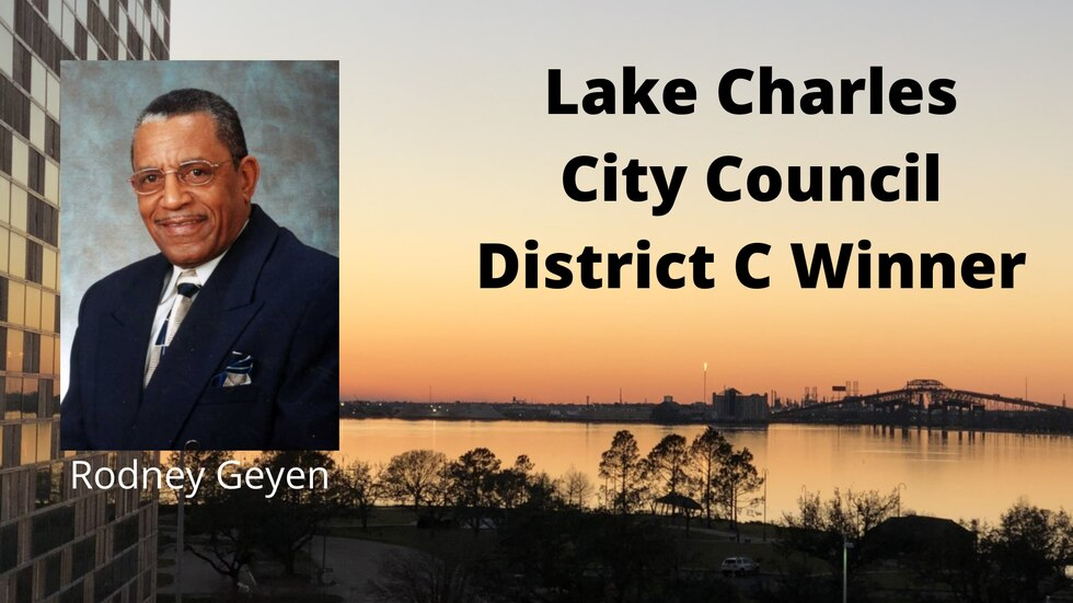 Longtime Lake Charles City Councilman Rodney Geyen retained his seat Saturday, defeating...
