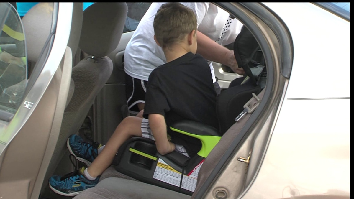 We're one week away from a child safety seat inspection event.