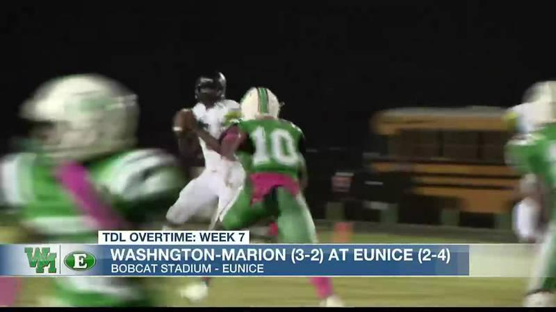 TDL WEEK 7: Eunice 35, Washington-Marion 12