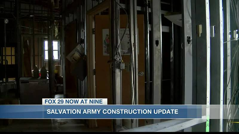 Salvation Army gives update on shelter