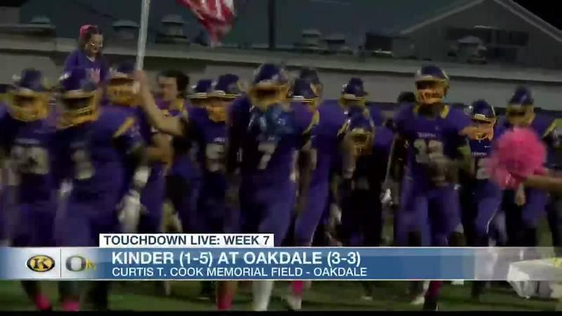 TDL WEEK 7: Oakdale 29, Kinder 15