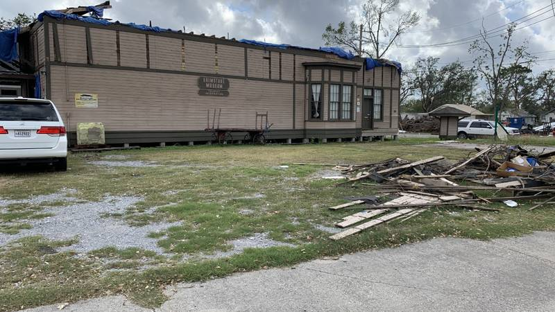 Damaged by hurricanes, the historic structure is set to be demolished.