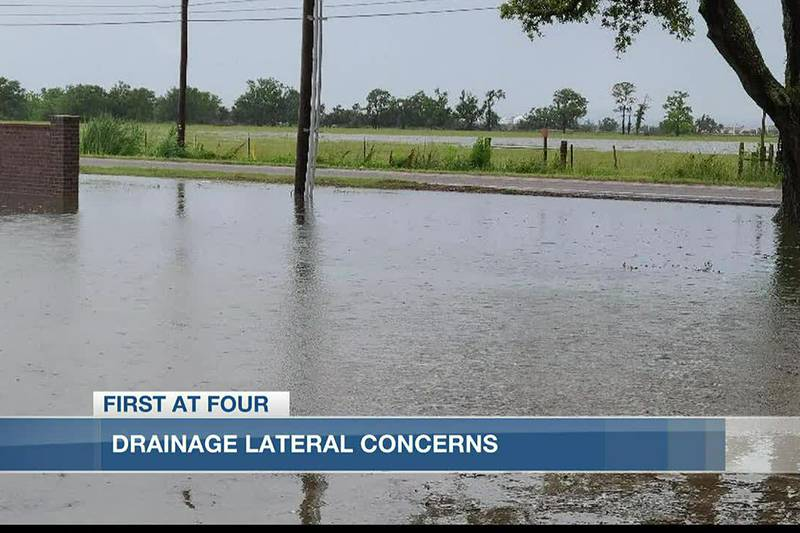 DOTD says they are working to improve the drainage along this corridor.