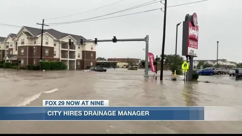 City Council appoints drainage manager