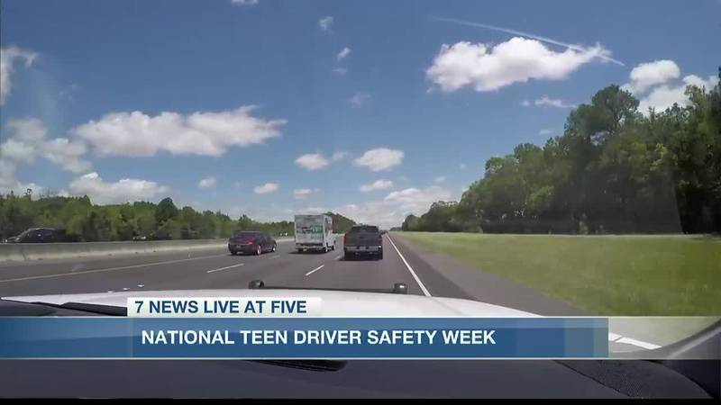 National Teen Driver Safety Week.