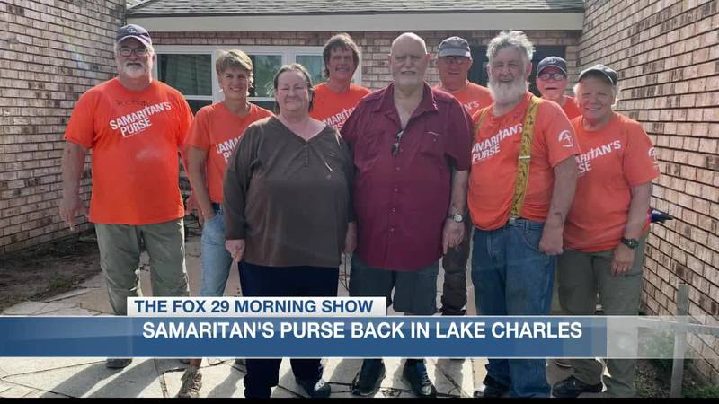 Samaritan's Purse back in Lake Charles to help assist in recovery efforts