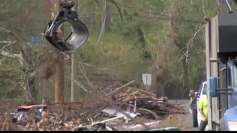 VIDEO: Last call for debris pickup