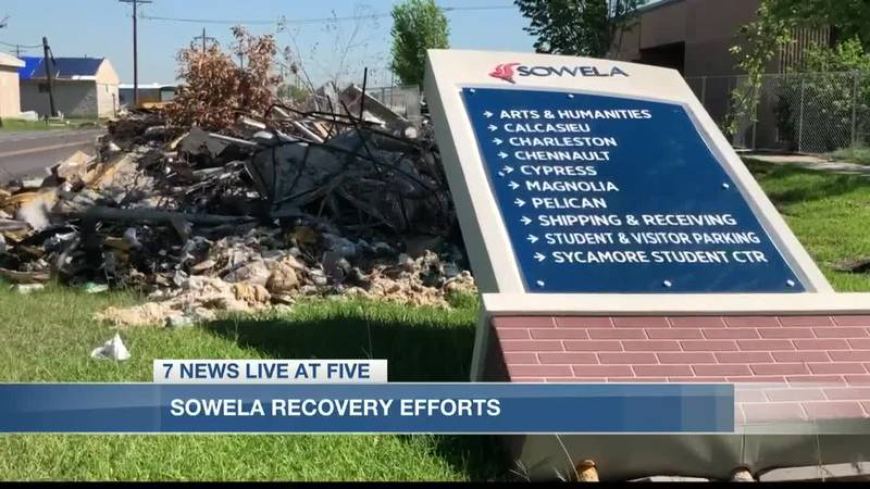 The college is working on a recovery plan that includes three phases.