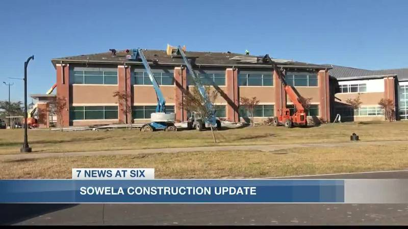 Three months after Hurricane Laura SOWELA Technical Community College is moving forward in...