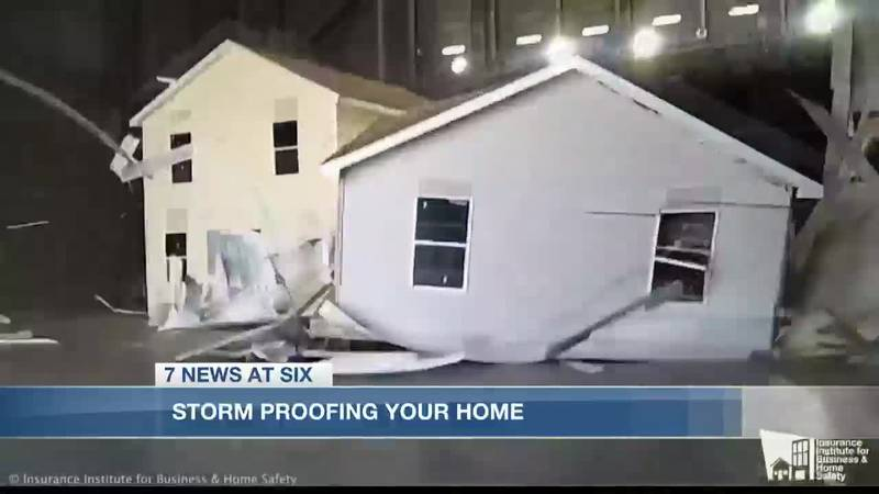 Storm proofing your home