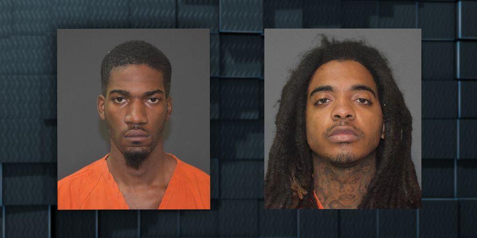 Darius Castille and Savyon Hamilton were arrested during a traffic stop in Westlake, La., in...