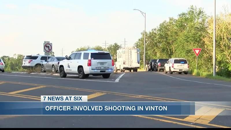 Officer-involved shooting on I-10 on-ramp in Vinton