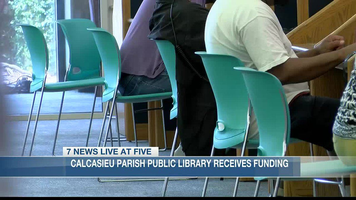 The Calcasieu Parish Public Library looking to expand its outreach services.