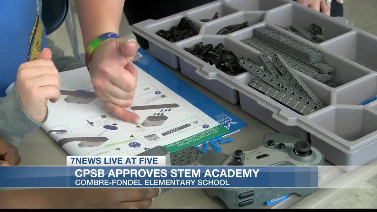 CPSB approves STEM Academy at Combre-Fondel Elementary School.