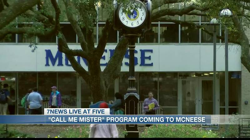 """""""Call Me MISTER"""" program coming to McNeese State University."""