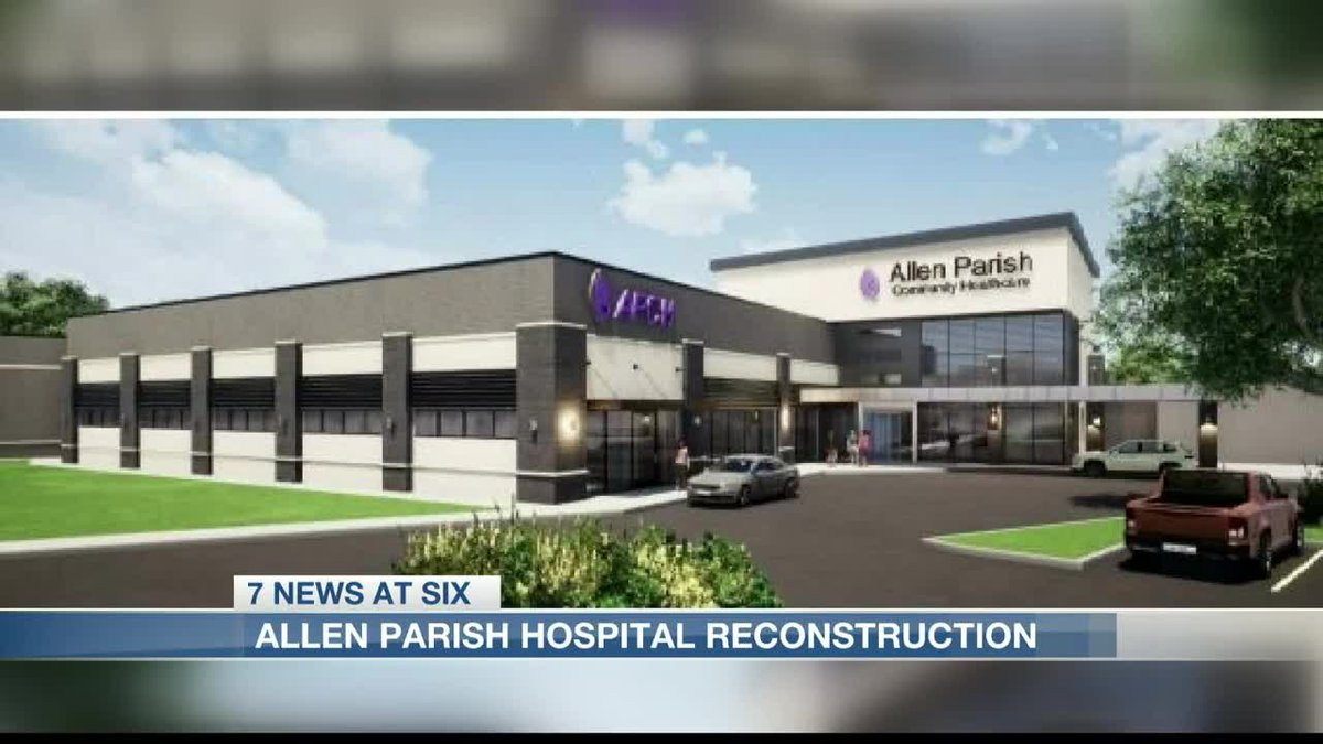 Allen Parish to begin construction on a new hospital this summer