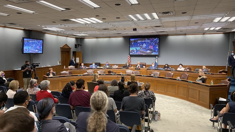 Frustrated parents steal the show at committee meeting over COVID mandates