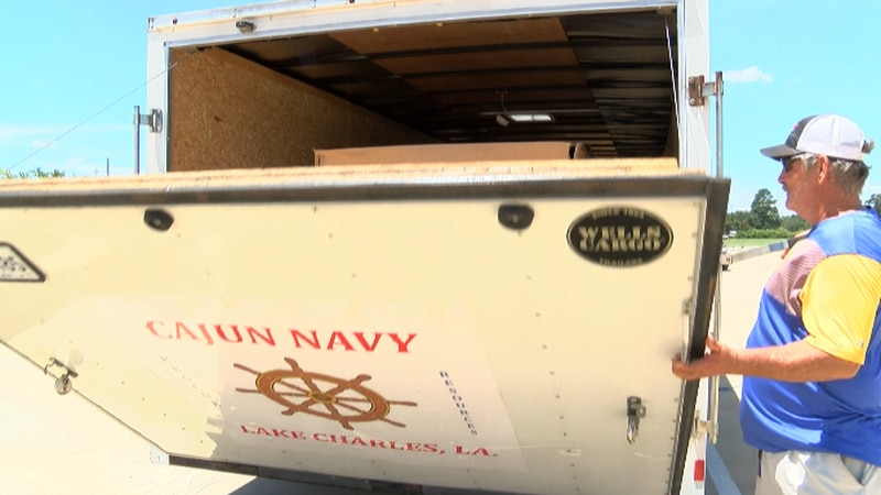 Cajun Navy Lake Charles mobilizing for Barry