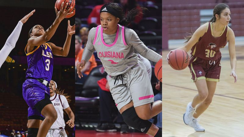 LSU senior guard Khayla Pointer was named the LSWA Louisiana Player of the Year Thursday. In...