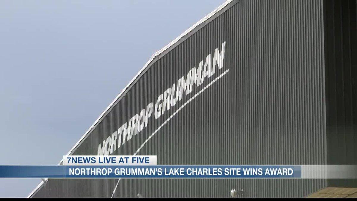 Northrop Grumman's Lake Charles site wins award following Hurricanes Laura and Delta.